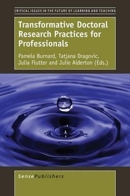 Transformative Doctoral Research Practices for Professionals - Critical Issues in the Future of Learning and Teaching 12 (Paperback)