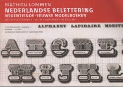 Dutch Lettering (Paperback)