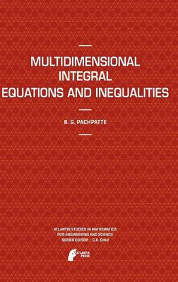 Multidimensional Integral Equations and Inequalities - Atlantis Studies in Mathematics for Engineering and Science 9 (Hardback)