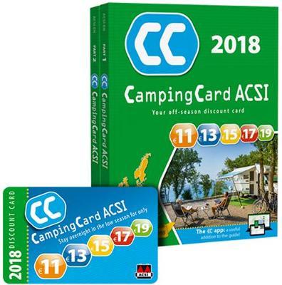 CampingCard 2018 20 countries 2018: ACSICARD.20.E (Paperback)