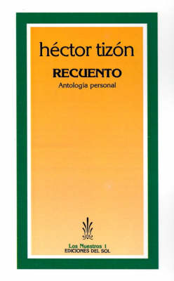 Recuento: Antologia Personal (Paperback)