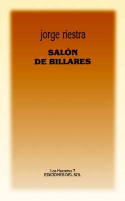 Salon De Billares (Paperback)