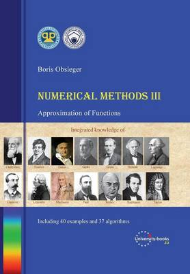 Numerical Methods III - Approximation of Functions by Boris Obsieger |  Waterstones