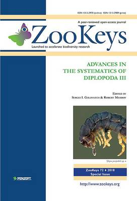 Advances in the Systematics of Diplopoda III (Paperback)