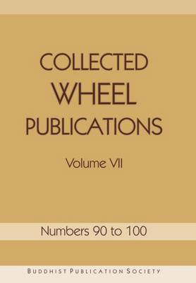 Collected Wheel Publications: Volume VII (Paperback)