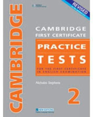 CAMBRIDGE FC PRACTICE TESTS 2REVISED EDTION STUDENT'S BOOK (Paperback)