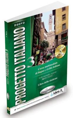 Nuovo Progetto italiano: Libro dello studente 3 + Audio CD (2) (Level B2-C1)