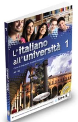 L'italiano all'universita: Libro e quaderno + CD Audio 1 (Level A1-A2)