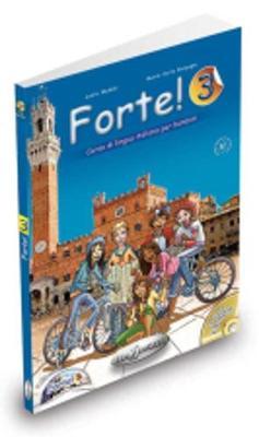 Forte!: Libro Dello Studente Ed Esercizi + CD 3 (A2) (CD-ROM)