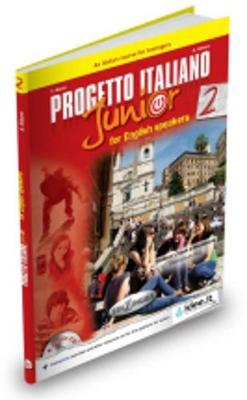 Progetto italiano junior: Student's book + Workbook + CD + DVD 2 - For English s