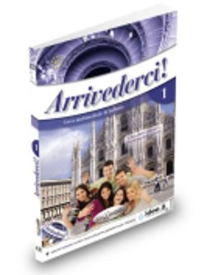 Arrivederci!: Libro + CD audio + DVD 1