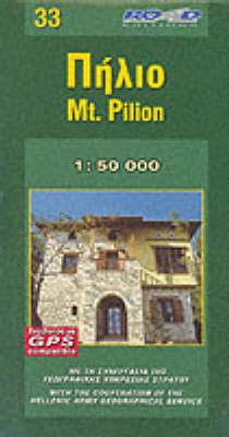 Pilio 2010 (Sheet map, folded)