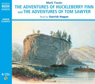 The Adventures of Huckleberry Finn and the Adventures of Tom Sawyer (CD-Audio)