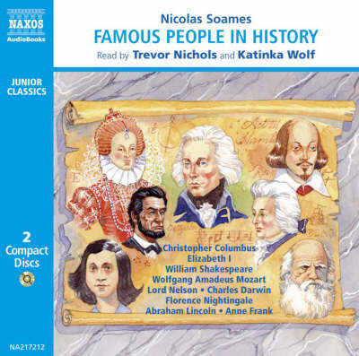 Famous People in History: v. 1 - Junior Classics (CD-Audio)