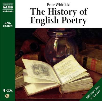 The History of English Poetry - Non-fiction (CD-Audio)