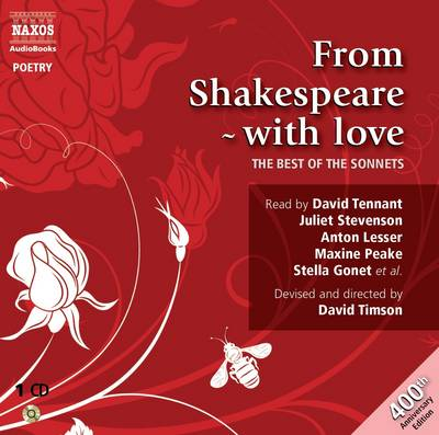 From Shakespeare - with Love - Great Poets (CD-Audio)