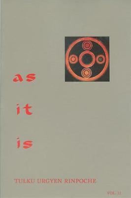 As It Is, Volume II: Essential Teachings from the Dzogchen Perspective (Paperback)