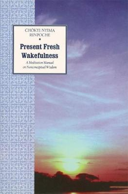 Present Fresh Wakefulness: A Meditation Manual on Nonconceptual Wisdom (Paperback)