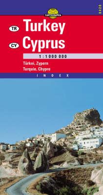 Turkey, Cyprus - European Road Maps S. (Sheet map, folded)