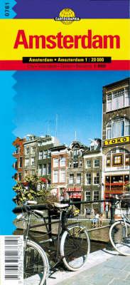 Amsterdam - Cartographia City Map S. (Sheet map, folded)
