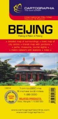 Beijing City Plan - Michelin City Plans No. 6804 (Sheet map, folded)