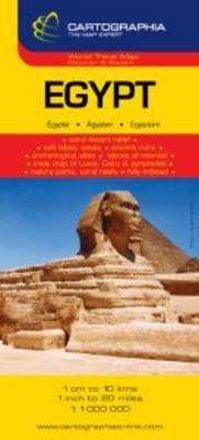 Egypt Country Map: Cartographia Map Collection - Michelin National Maps No. 6926 (Sheet map, folded)
