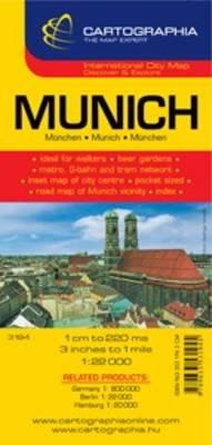 Munich - City Map (Sheet map, folded)
