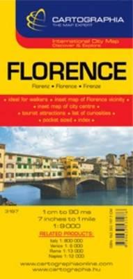 Florence - City Map (Sheet map, folded)
