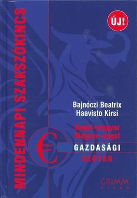 English-Hungarian & Hungarian Economics Dictionary (Hardback)