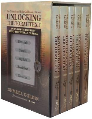 Unlocking the Torah Text: 5 Volume Set (Hardback)