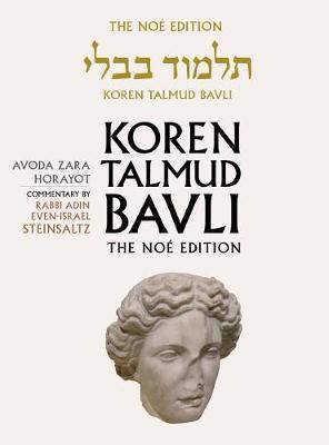 Koren Talmud Bavli: v. 32: Avoda Zara, Horayot, English (Hardback)