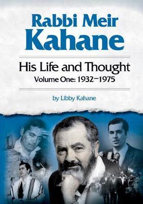 Rabbi Meir Kahane (Hardback)