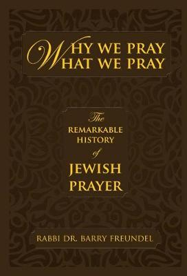 Why We Pray What We Pray: The Remarkable History of Jewish Prayer (Hardback)