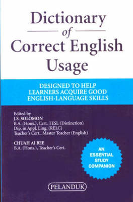 Dictionary of Correct English Usage (Paperback)