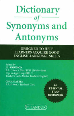 Dictionary of Synonyms and Antonyms (Paperback)