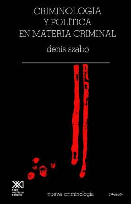 Criminologia Critica En Materia Criminal (Paperback)