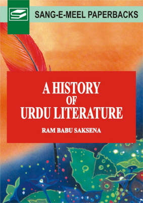 A History of Urdu Literature (Hardback)