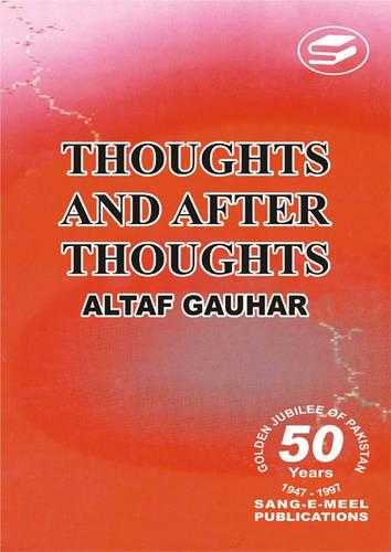 Thoughts and After Thoughts (Hardback)