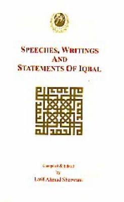 Writings, Speeches and Statements of Iqbal (Hardback)