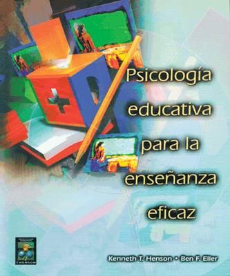 Psicologia Educativa Para La Ensenanza Eficaz (Paperback)