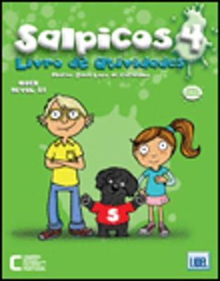 Salpicos - Portuguese Course for Children: Livro De Atividades 4 (Paperback)