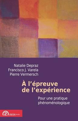 A L'epreuve De L'experience: Pour Une Pratique Phenomenologique - Phenomenological Workshop Texts (Paperback)