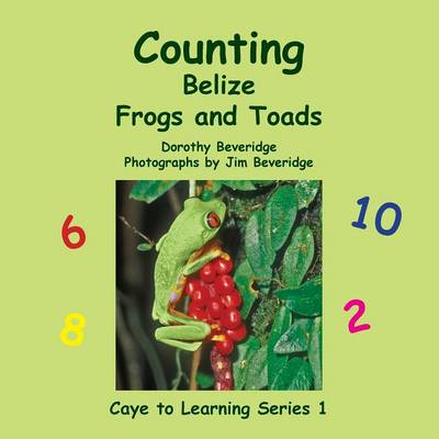 Counting Belize Frogs and Toads (Paperback)