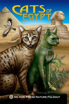 Cats of Egypt: An AUC Press Nature Foldout (Paperback)