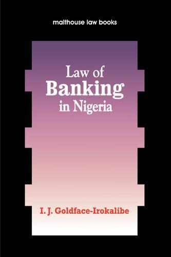 Law of Banking Nigeria (Paperback)