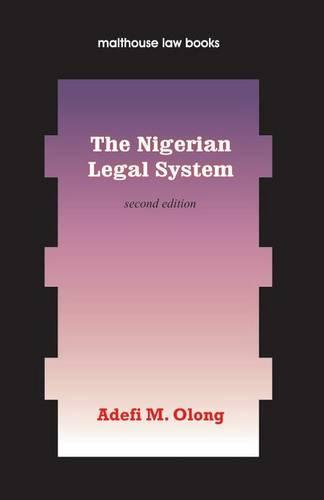 The Nigerian Legal System (Paperback)
