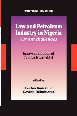 Law and Petroleum Industry in Nigeria (Paperback)