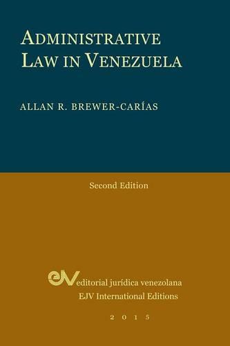 Administrative Law in Venezuela (Paperback)