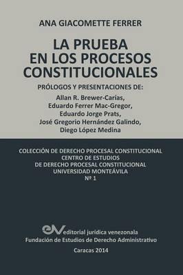 Las Pruebas En Los Procesos Constitucionales (Paperback)