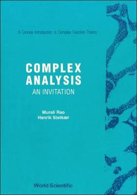 Complex Analysis: An Invitation (Hardback)